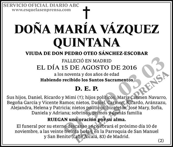 María Vázquez Quintana